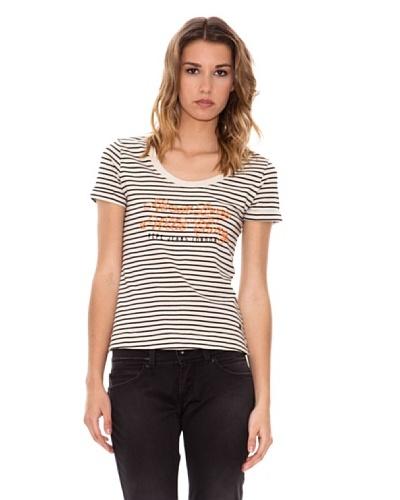 Pepe Jeans London Camiseta Karen Blanco / Negro