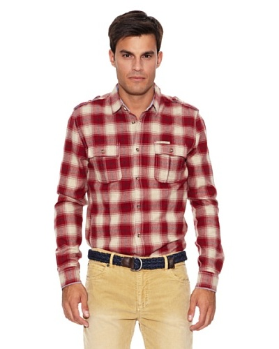 Pepe Jeans London Camisa Savant Rojo / Blanco