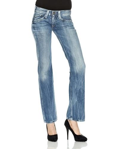 Pepe Jeans London Pantalón Vaqueros Olympia Azul