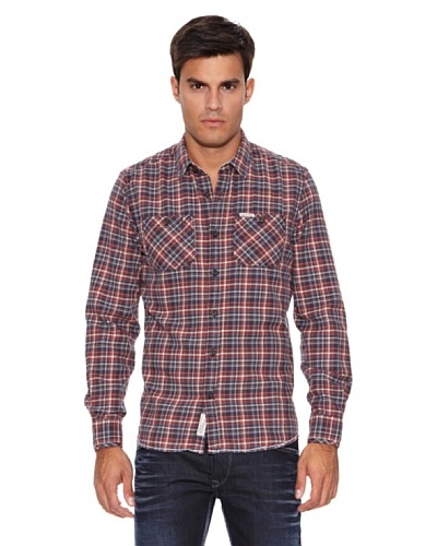 Pepe Jeans London Camisa Able Azul / Rojo / Blanco