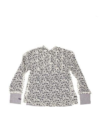 Pepe Jeans London Blusa y Camiseta Gema Blanco / Marino