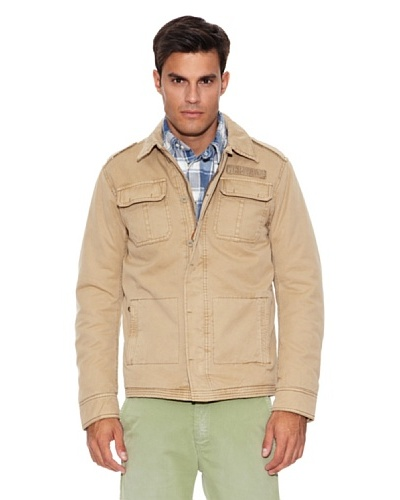 Pepe Jeans London Cazadora Asher Beige