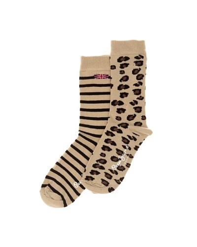 Pepe Jeans London Calcetines x2 Girls Socks 2 Multicolor