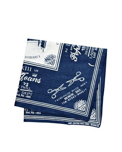 Pepe Jeans London Pañuelo Hex Azul
