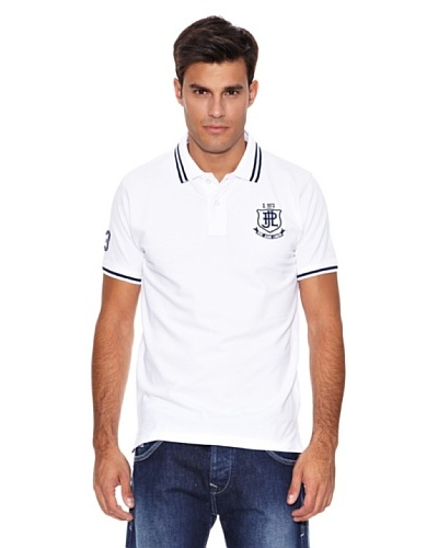 Pepe Jeans London Polo Crest Blanco
