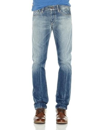Pepe Jeans London Pantalón Vaquero Cane Azul