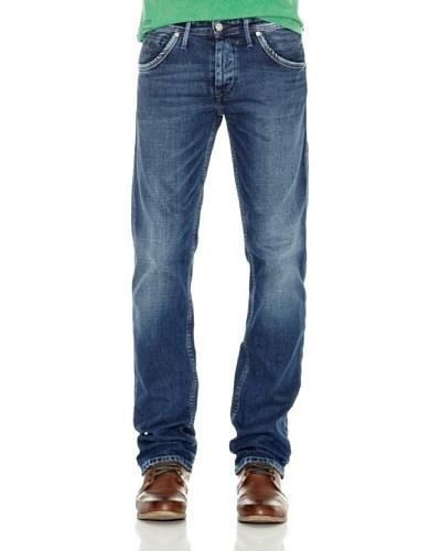 Pepe Jeans London Pantalón Vaquero Hoxton Oldaw Azul
