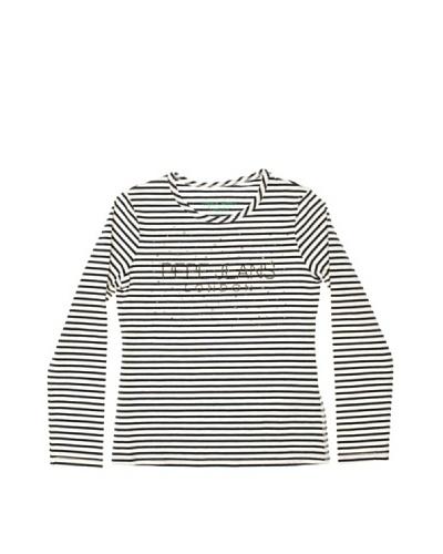 Pepe Jeans London Camiseta Milla Blanco / Marino