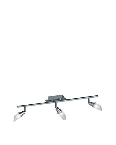 Philips Regleta De 3 Luces De Aluminio Con Tecnología Halógena