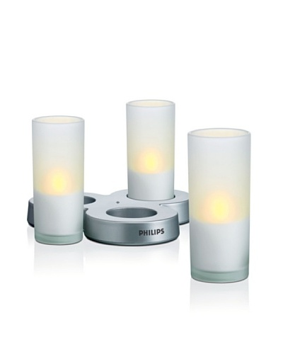 Philips Candlelights Candlelights set de 3 velas con tecnología LED 6910860PH