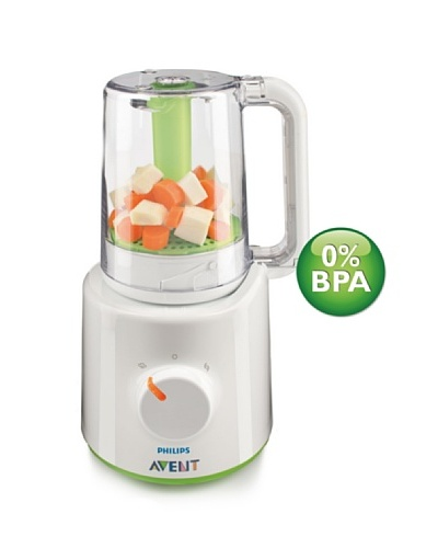 Philips Avent Procesador de Alimentos para Bebés SCF87020 con mochila
