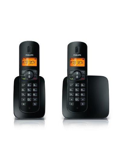 Philips Teléfono Inalámbrico BeNear Duo CD1802B