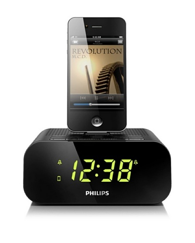 Philips Radio reloj con base para iPod/iPhone  AJ3270D/12