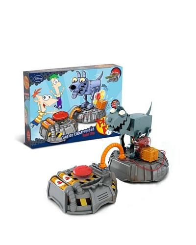 Phineas & Ferb PF0015 – Set electricidad – Robo Dog (Giro)