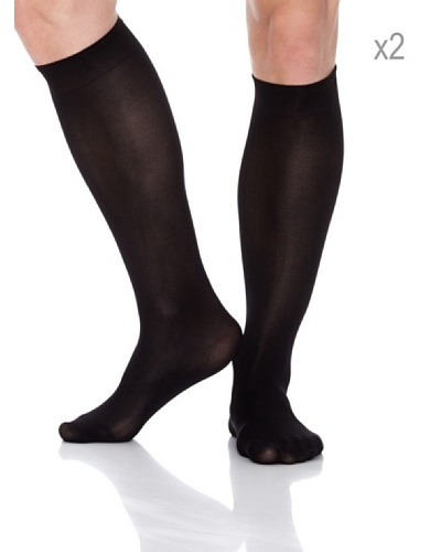 Pierre Cardin Pack x 2 Pares Calcetines Ejecutivo Poliamida