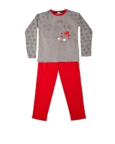 Pillerias Pijama Magalie Rojo