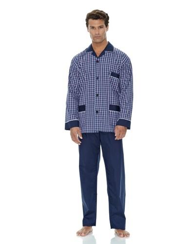 Plajol Pijama Caballero Cuadro Combinado