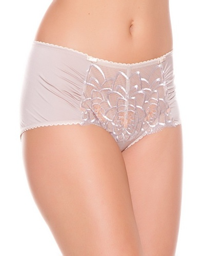 Playtex Short coulotte Embroidered Flowers Beige