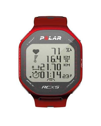 Polar Pulsómetro de Entrenamiento RCX5 Para Triatlón Con GPS Externo Rojo