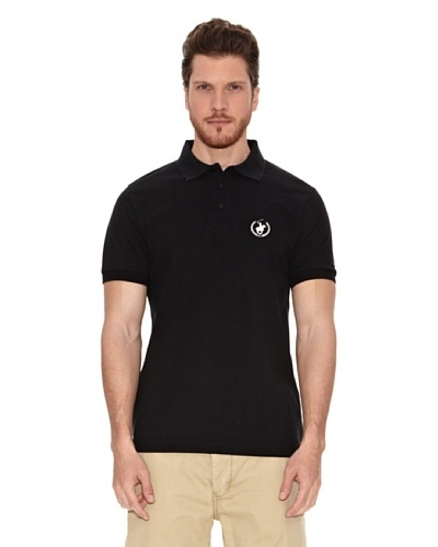 Polo Club Polo Custom Fit Logo Small Negro