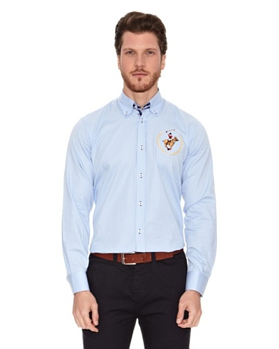 Polo Club Camisa Manga Larga Semientallada Tallapoosa