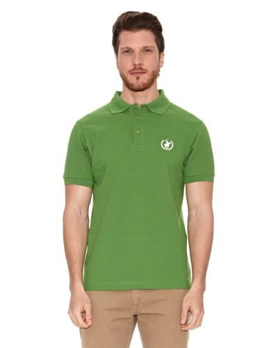 Polo Club Polo Custom Fit Logo Small Verde