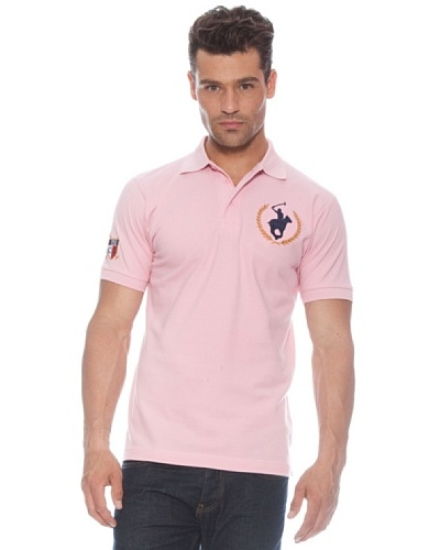 Polo Club Polo manga corta Custom Fit Color