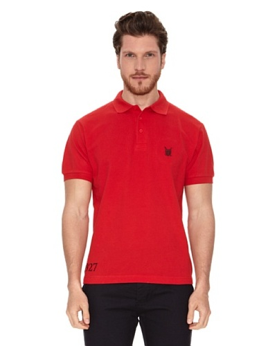 Polo Club Polo Club Polo Custom Fit Escudo Rojo