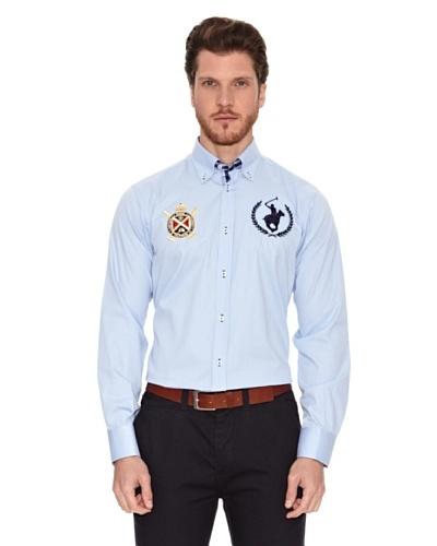 Polo Club Camisa Manga Larga Semientallada