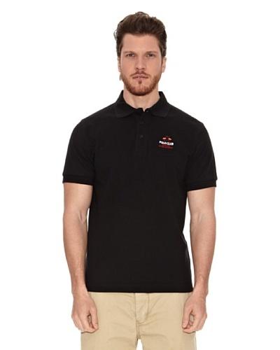 Polo Club Polo Custom Fit Banderas Negro