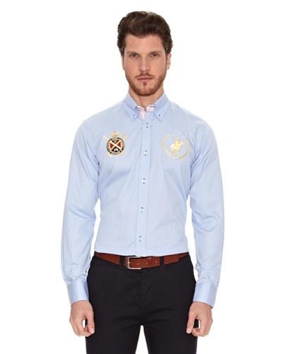 Polo Club Camisa Manga Larga Semientallada Winston