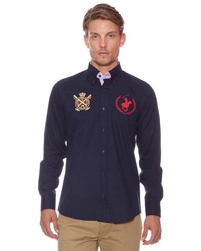 Polo Club Camisa Bradford Azul Oscuro