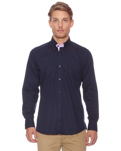 Polo Club Camisa Lowndes Azul Oscuro