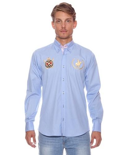 Polo Club Camisa Winston Azul Claro