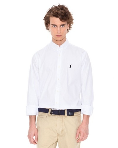 Polo Ralph Lauren Camisa Small Poney Blanco