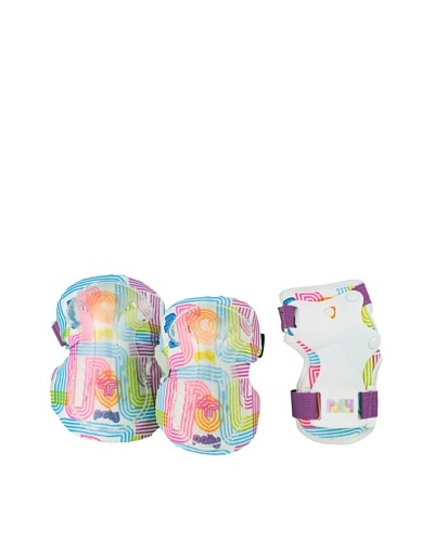 Powerslide Set de Protecciones Polly Pocket Flower