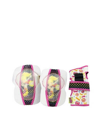 Powerslide Set de Protecciones Polly Pocket Fun