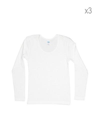 Princesa Pack De 3 Camisetas Manga Larga Niña Natural Thermal