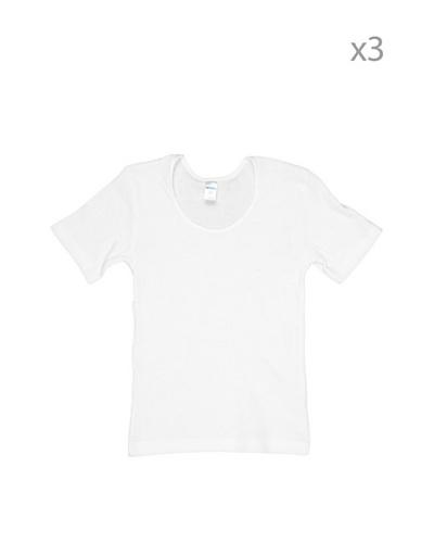 Princesa Camiseta Manga Corta Blanco