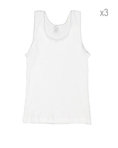 Princesa Camiseta Cubre Niña Tricot Pack3