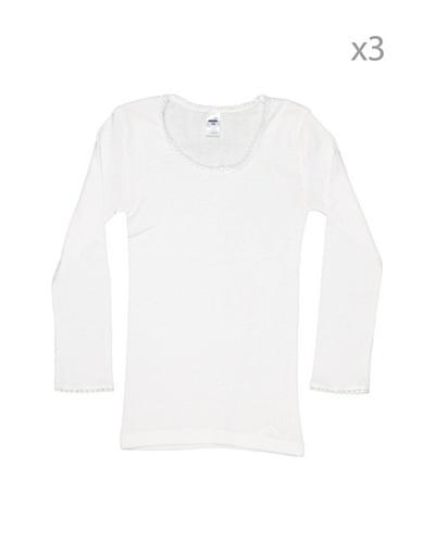 Princesa Camiseta Manga Larga Thermal Pack3 Niña