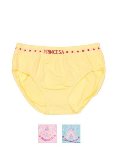 Princesa Braga Seamless (Sin Costuras) Fantasia Niña Pack3