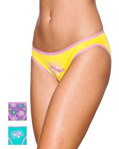 Princesa Pack x 3 Braguita Bikini Algodón Triplets