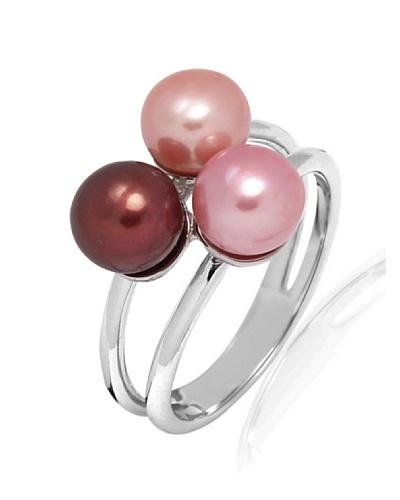 Pure Pearls Anillo plata con perlas de agua dulce