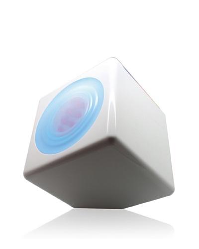Purline Cubo Led Ambiental Con Luz De Colores CYGNUS Blanco