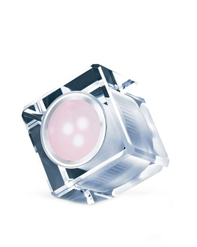 PURLINE Cubo de cristal LED ambiental con luz de colores LYRA