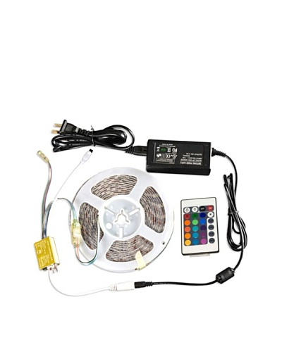 PURLINEBASIC Kit completo LED 5050 SMD RGB con mando a distancia para interiores
