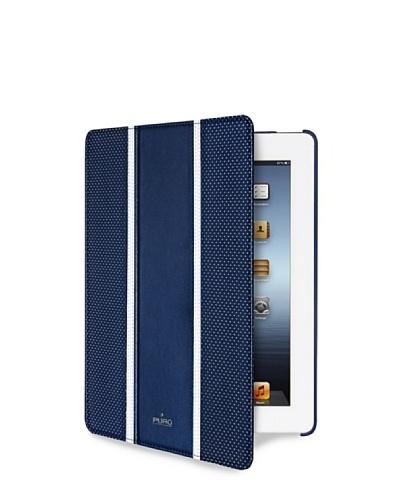 PURO Funda Golf Azul Apple Ipad 2/ New Ipad/Retina Soporte + On/Off Puro