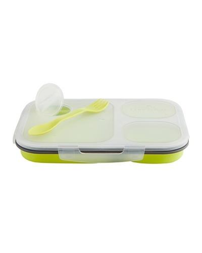Quid Lunch Box Plegable 25,5x18 Cm Green Modelo Go!