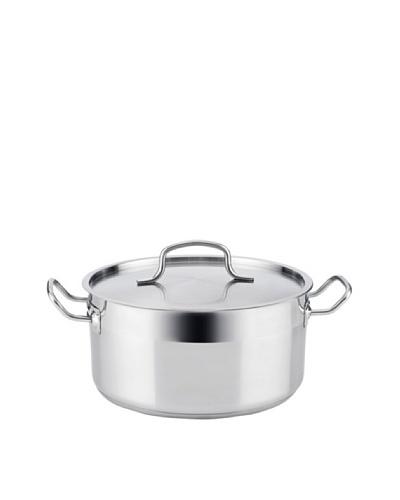 Quid Cook Inox Basika - Cacerola, 22 cm